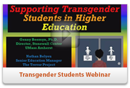 Supporting Trans* Students